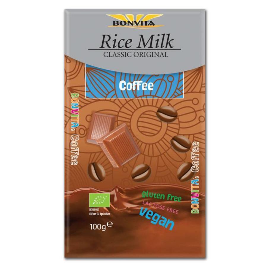 Rijstmelk Chocolade met Koffie Biologisch