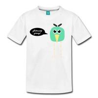 Coeliakiemaand Kinder T-shirt wit, maat 98/104