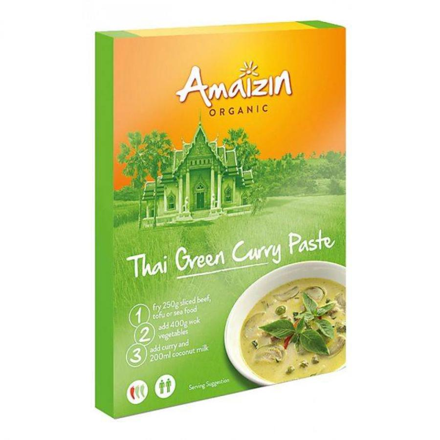 Thaise Groene Curry Biologisch