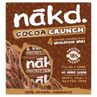 Cocoa Crunch Bars 4-Pack