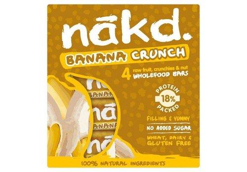 Nakd Banana Crunch Bar 4-pack
