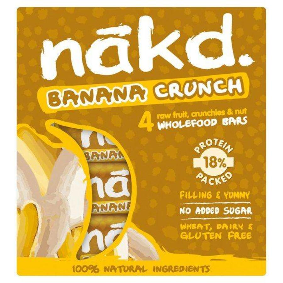 Banana Crunch Bars 4-Pack