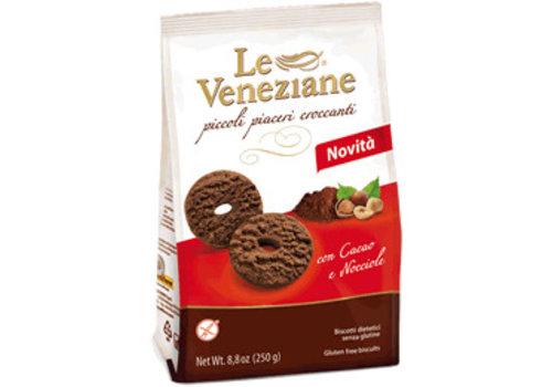 Le veneziane Chocolade Hazelnoot Koekjes (THT 24-11-2019)