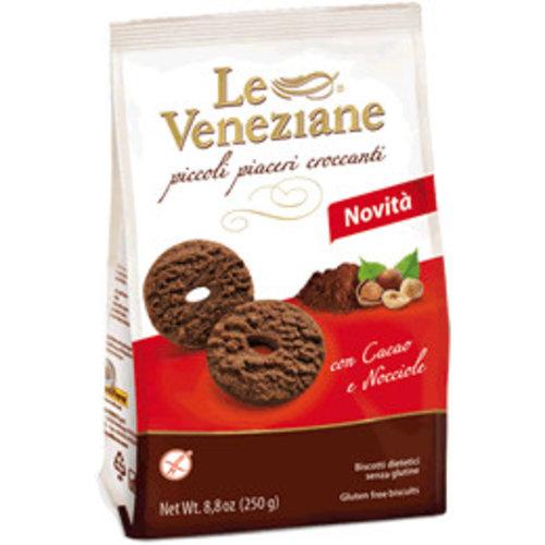 Le veneziane Chocolade Hazelnoot Koekjes