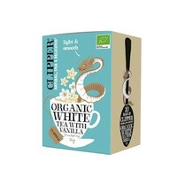 Organic White Tea With Vanilla Biologisch 20 Zakjes