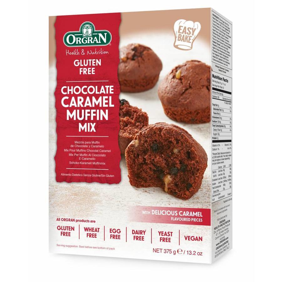 Chocolade Caramel Muffinmix