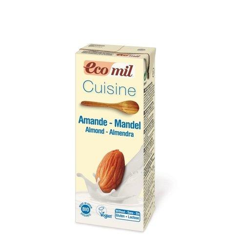 Ecomil Amandelroom (cuisine) Biologisch