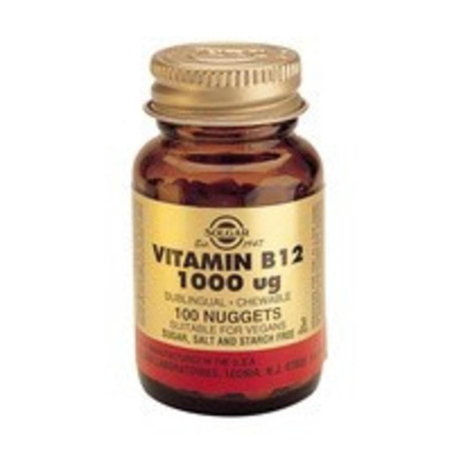 Vitamin B-12 1000 µg (100 kauwtabletten)