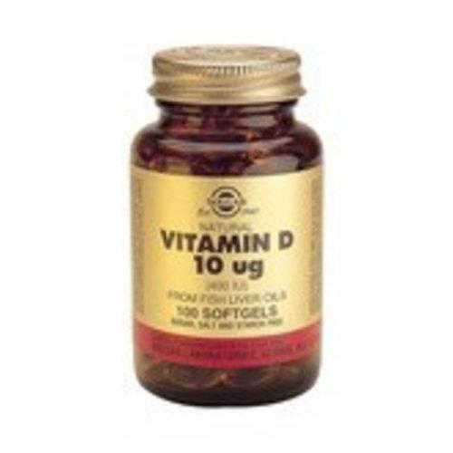 Solgar Vitamin D-3 10 µg/400 IU (100 softgels)