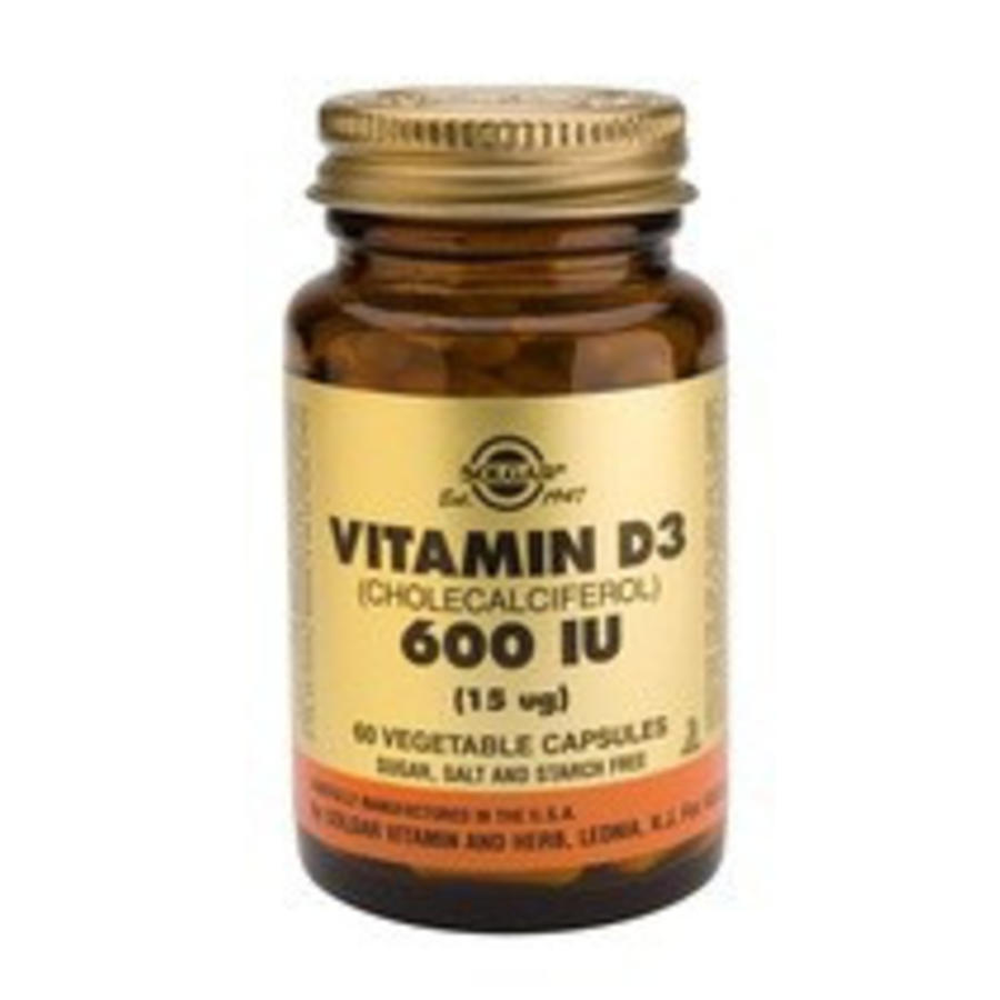 Vitamin D-3 15 µg/600 IU (60 capsules)