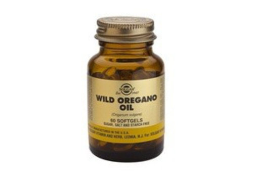 Solgar Wild Oregano Oil (Wilde oregano) (60 softgels)