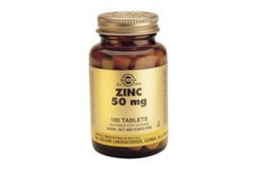 Solgar Zinc 50 mg (100 tabletten)