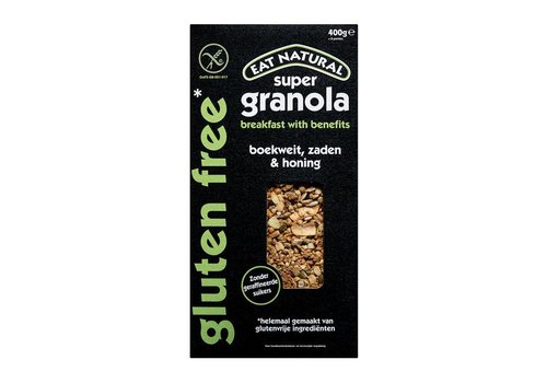 Eat Natural Super Granola Boekweit, Zaden & Honing
