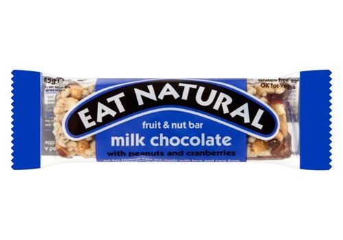 Eat Natural Fruit en Noot Reep Melk Chocolade