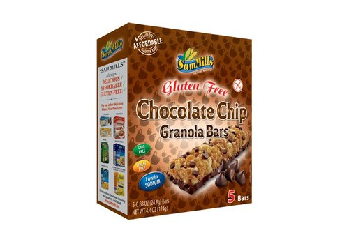 Sam Mills Chocolate Chip Granola Bars (5 stuks)