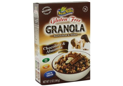 Sam Mills Granola Chocolate & Almonds