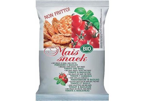 Bio Alimenti Maïs Snack Tomaat & Basilicum Biologisch
