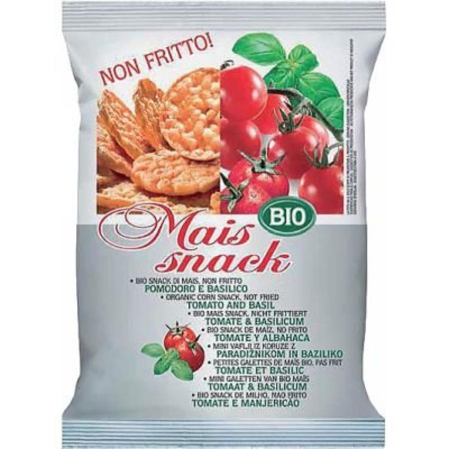Maïs Snack Tomaat & Basilicum Biologisch