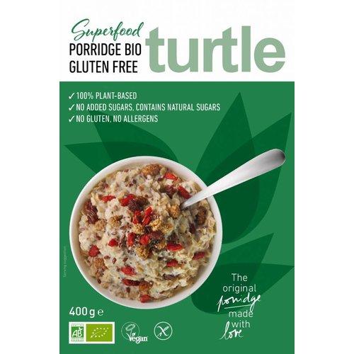Turtle Havermout Porridge Superfood Biologisch  (THT 20-07-2019)