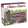 Le Pain des Fleurs Krokante Crackers Zwarte Rijst Biologisch