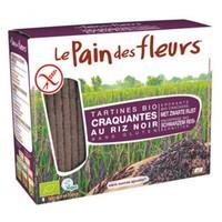 Krokante Crackers Zwarte Rijst Biologisch