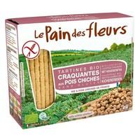 Krokante Crackers Kikkererwten Biologisch
