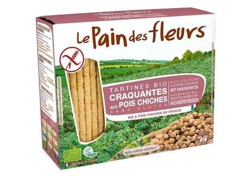 Le Pain des Fleurs Crackers Kikkererwten Biologisch