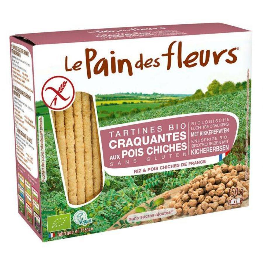 Crackers Kikkererwten Biologisch