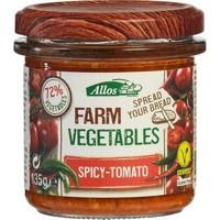 Groentespread Spicy Tomaat Biologisch