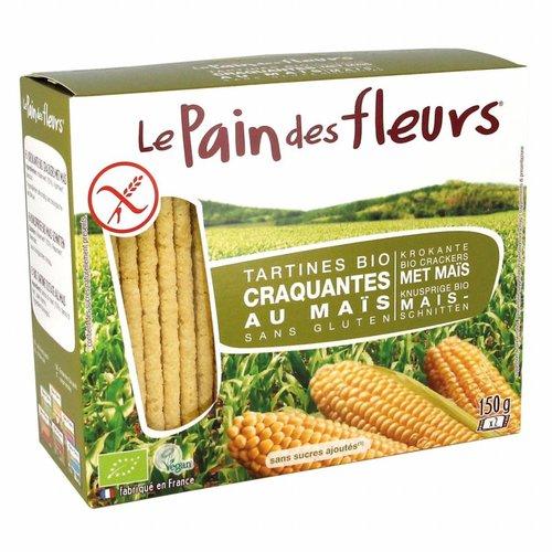 Le Pain des Fleurs Crackers Mais Biologisch