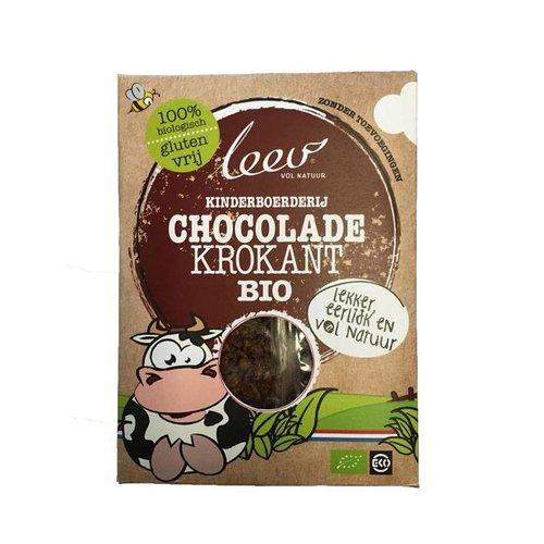 Leev Kinderboerderij Chocolade Krokant Biologisch