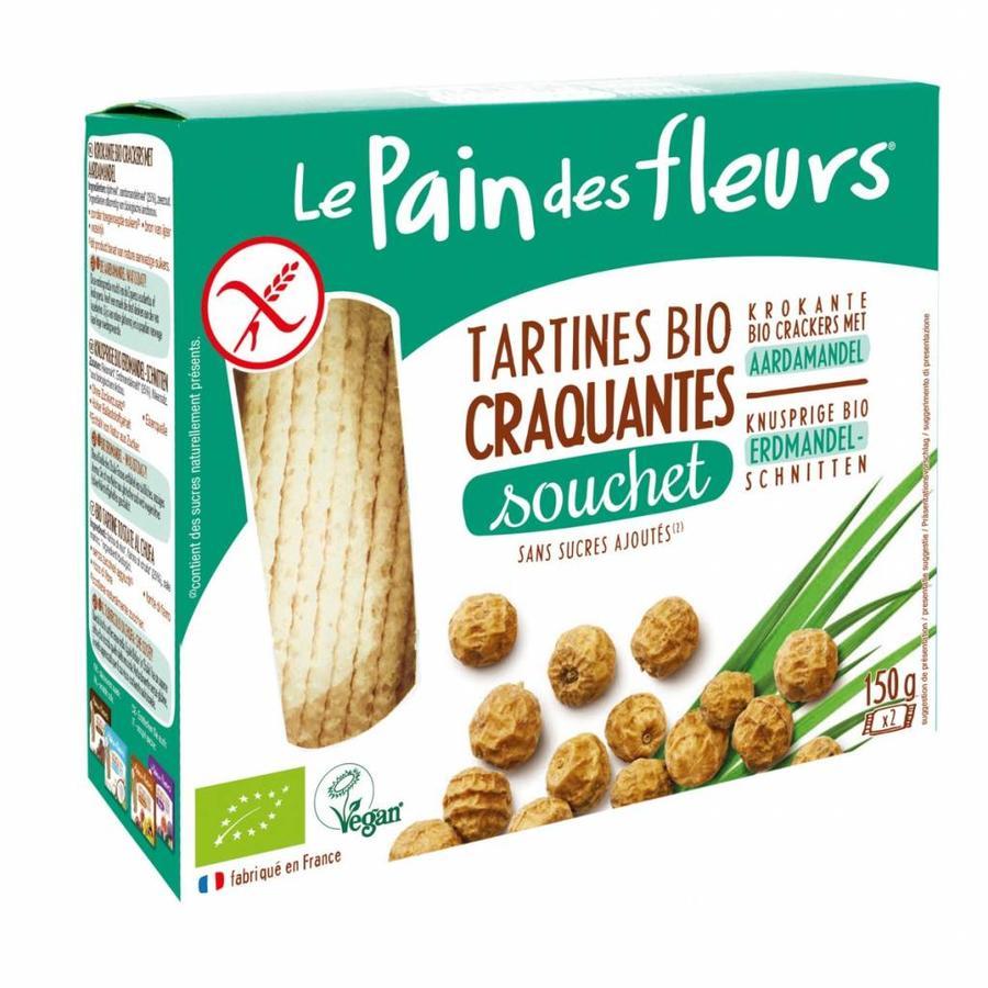 Aardamandel Crackers Biologisch 150g