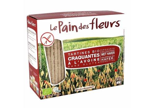 Le Pain des Fleurs Crackers Haver Biologisch