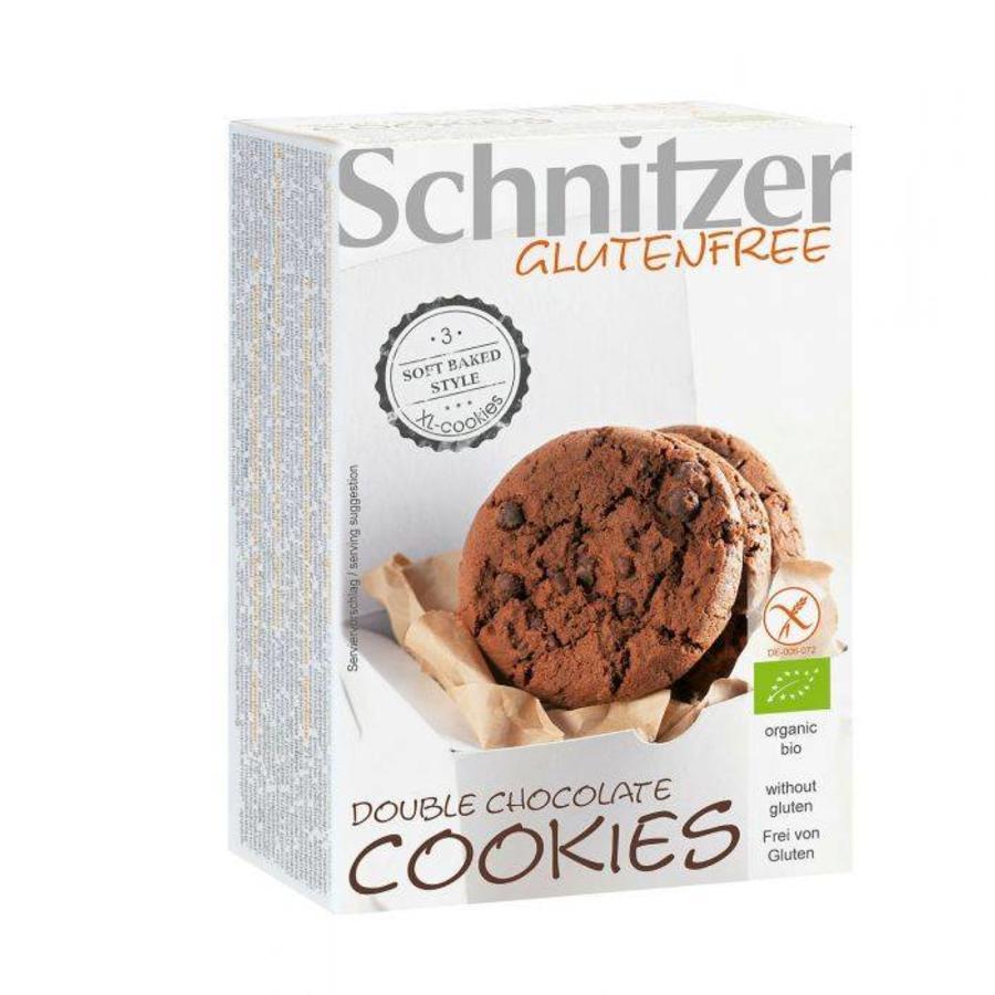 Double chocolate cookies Biologisch