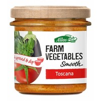Farm Vegetables Smooth Toscana Spread Biologisch