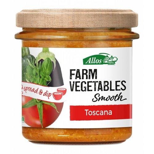 Allos Farm Vegetables Smooth Toscana Spread Biologisch