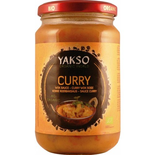 Yakso Roerbaksaus Curry Biologisch