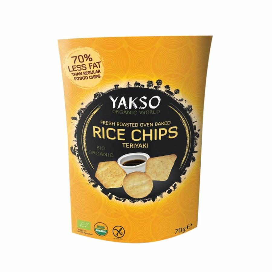 Rice Chips Teriyaki Biologisch