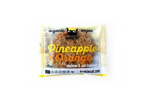 Kookie Cat Pineapple Orange Cookie Biologisch