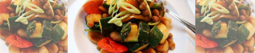 Vegetarisch recept: knapperige gnocchi met Italiaanse groenten