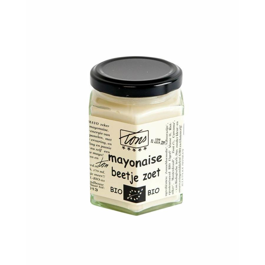 """Mayonaise """"Beetje Zoet"""" Biologisch"""