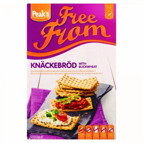 Peak's Free From Knackebrod met Boekweit