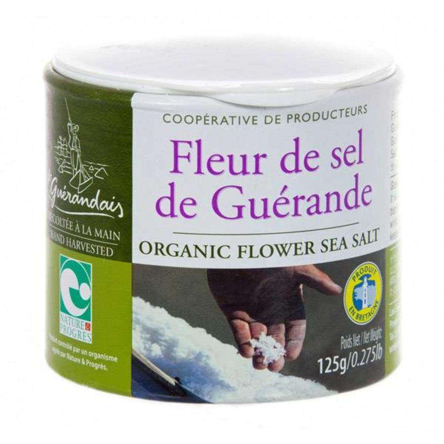 Le Guerandais Fleur De Sel De Guerande 125g Glutenvrijemarkt Com
