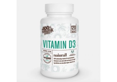 Naturall Pure Naturall Vitamine D3 - 120 Tabletten