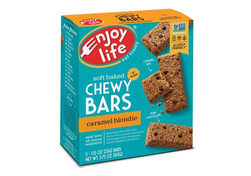 Enjoy Life Foods Chewy Bars Caramel Blondie (5x33g)