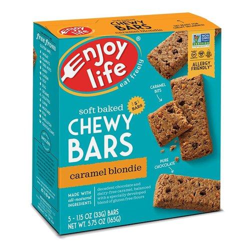 Enjoy Life Foods Chewy Bars Caramel Blondie (5x33g)