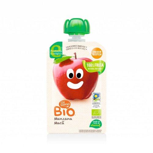 Mi Menu Bio Knijpfruit Appel Biologisch (THT 16-3-2019)