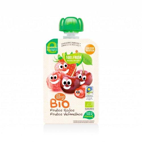 Mi Menu Bio Knijpfruit Rode Bosvruchten Biologisch
