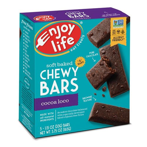 Enjoy Life Foods Chewy Bars Cocao Loco (5x33g)