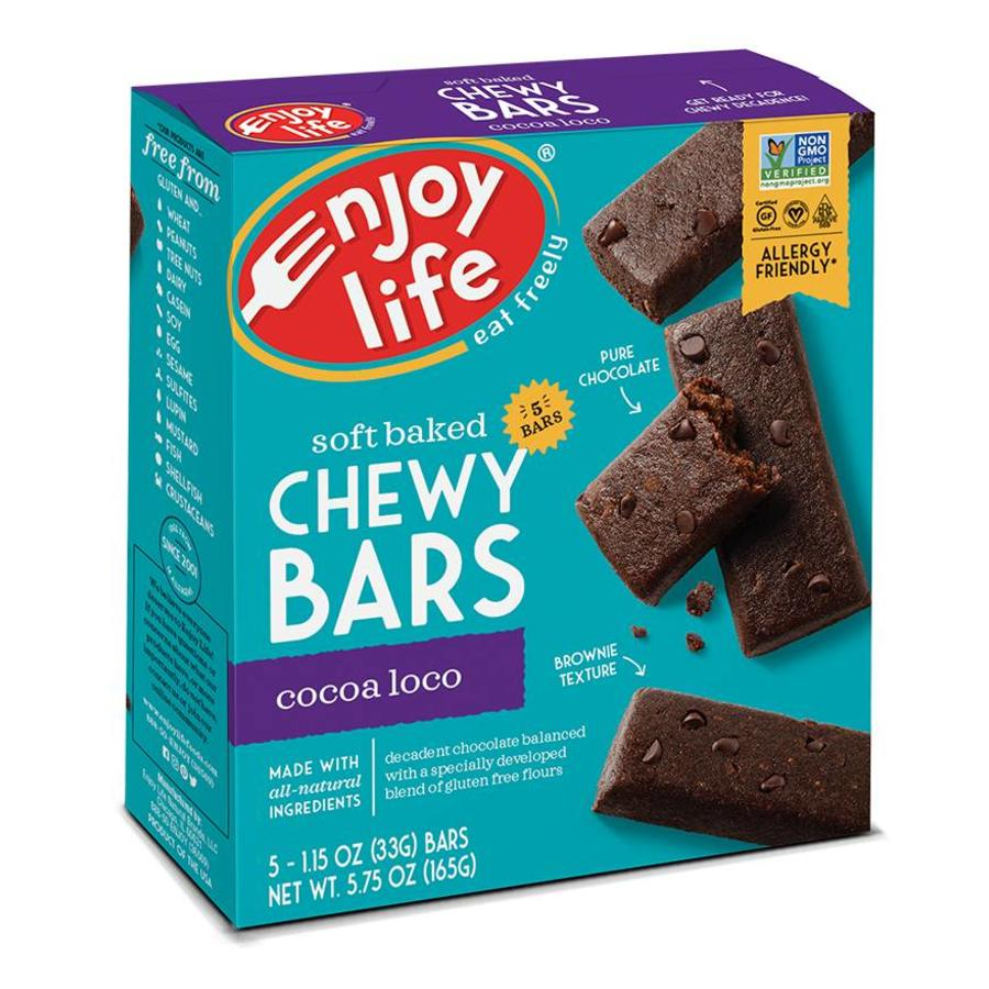 Chewy Bars Cocao Loco (5x33g)